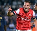 podolski arsenal 2012